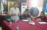 أول اجتماع لاتحاد الاعلام الحر مع الاعلاميين في الرقة
