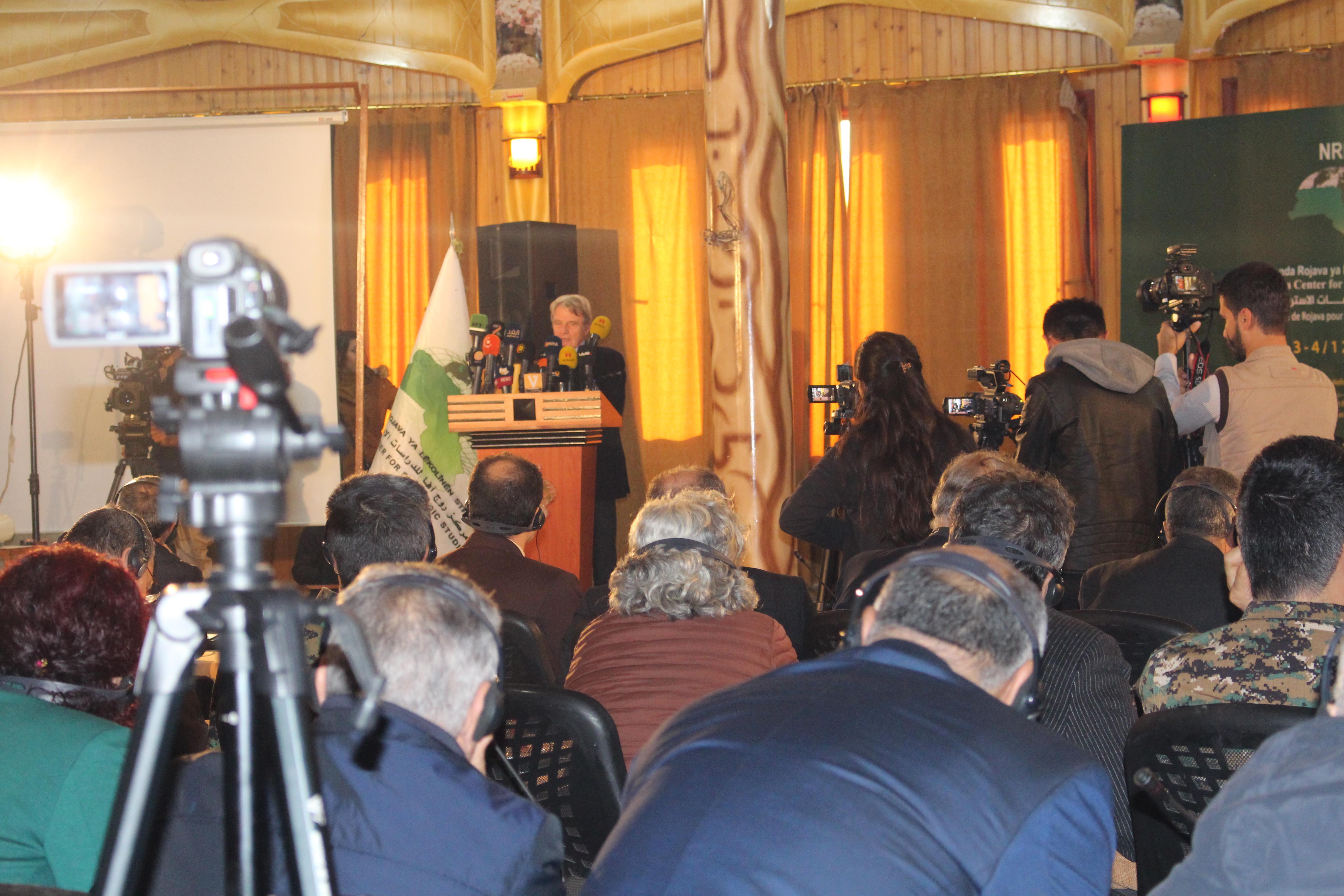 اختتام أعمال المنتدى الدولي حول عفرين