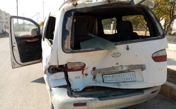 حصيلة يوم من الهجوم التركي  اصابة ثلاث مراسلين