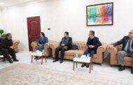 اتحاد الإعلام الحر يلتقي وزير الثقافة في أربيل