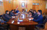 اتحاد الإعلام الحر يلتقي لجنة الثقافة والشباب في برلمان كوردستان بمحافظة أربيل